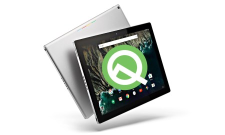Google Pixel C Android Q Tablet Header