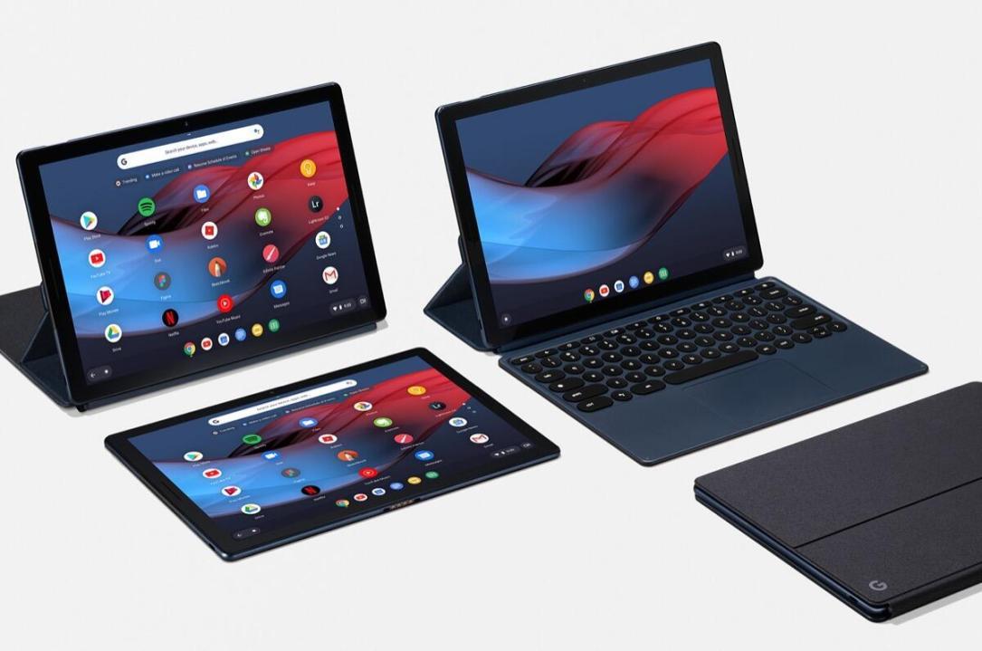 Google Pixel Slate Tablet Laptop Header