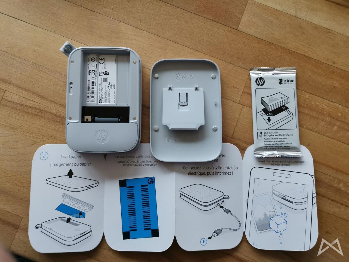 Hp Sprocket Hp200 Pocket Photo Printer Einrichtung