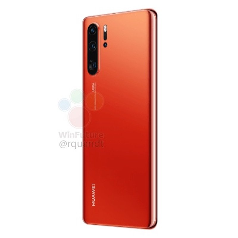 Huawei P30 Pro Sunrise Leak4