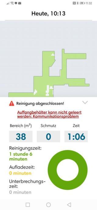 Irobot Roomba I7 Fehlermeldung