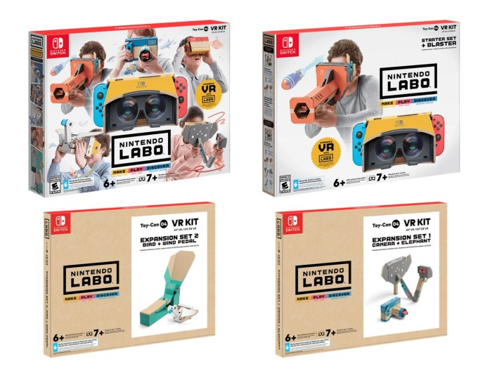 Nintendo Switch Labo Vr Kit Auswahl