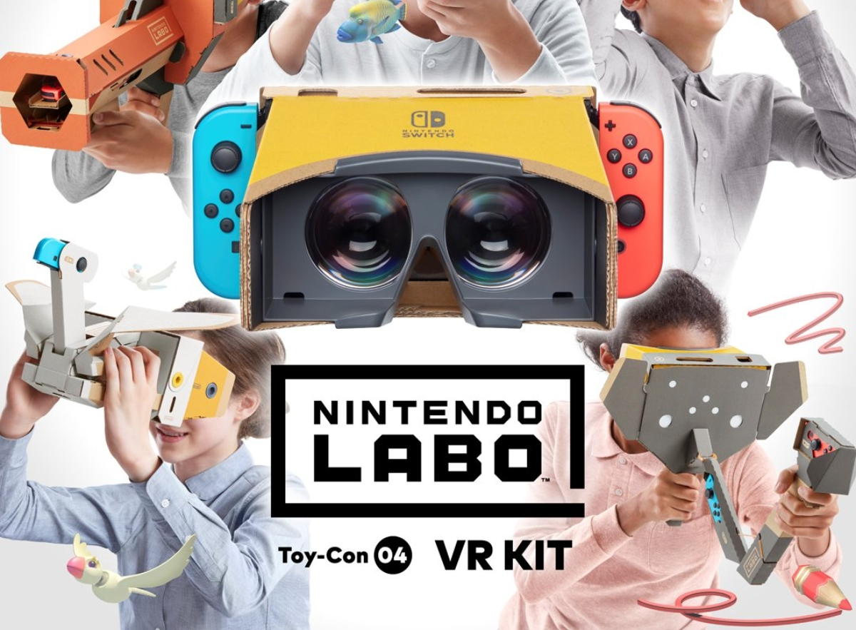 Nintendo Switch Labo Vr Kit Header
