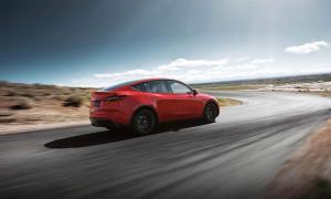 Tesla Model Y Back