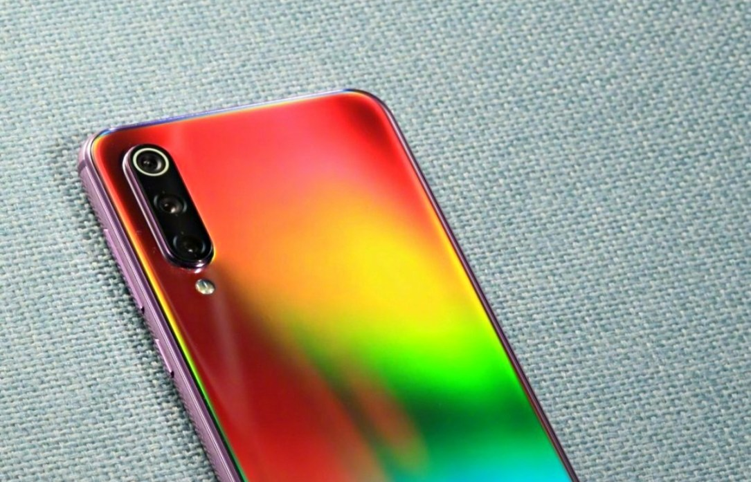 Xiaomi Mi 9 Regenbogen Teaser