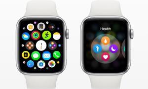 Apple Watch Watchos 6 Konzept Home Screen