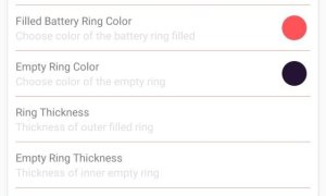 Battery Ring Für Smartphones Mit Punch Hole Kamera Settings