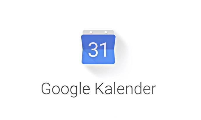 Google Kalender Logo Header