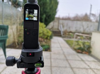 Osmo Pocket Adapter Arca
