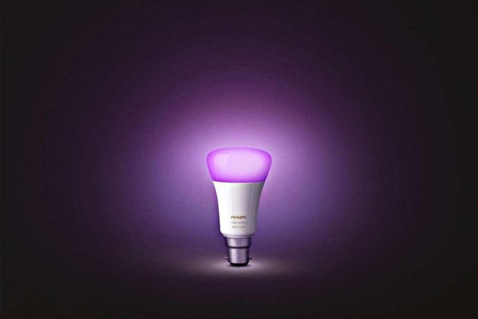 Philips Hue Lampe Header