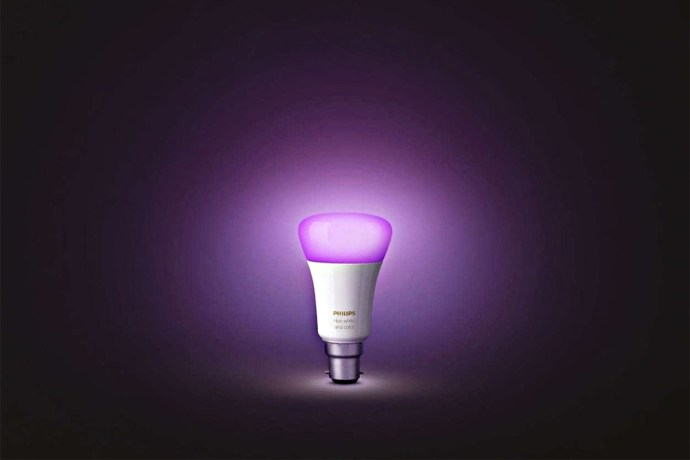 Philips Hue Lampe Header