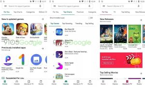 Playstore Redesign