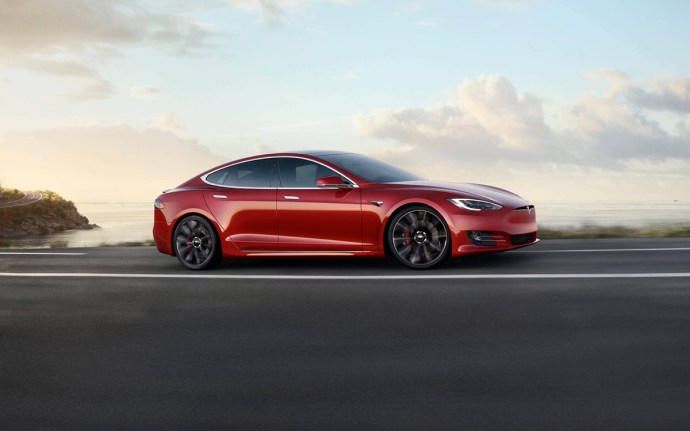 Tesla Model S Rot Header