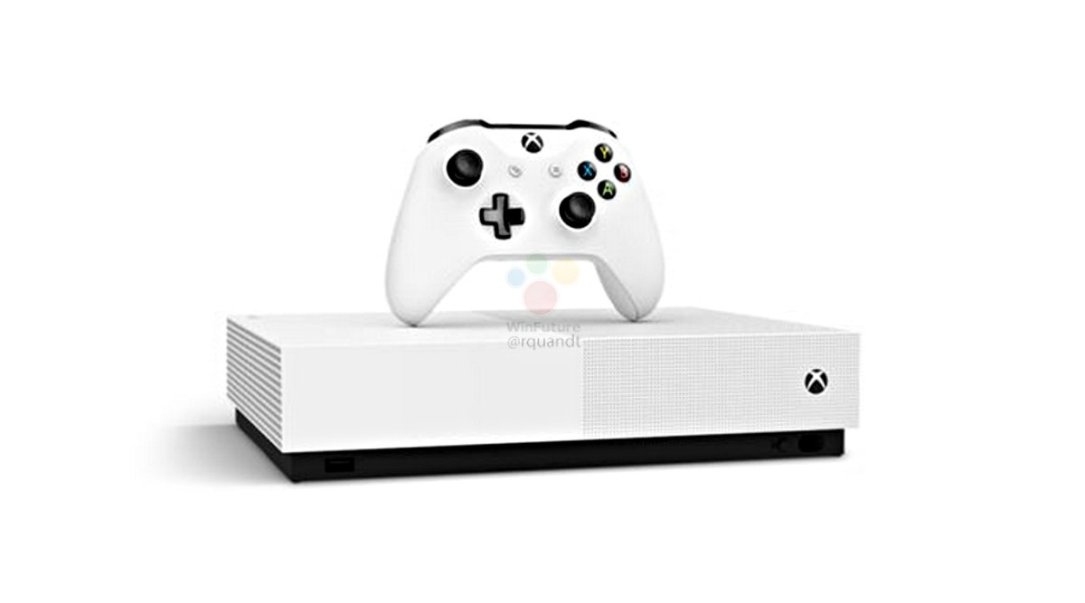 Xbox One S All Digital Leak