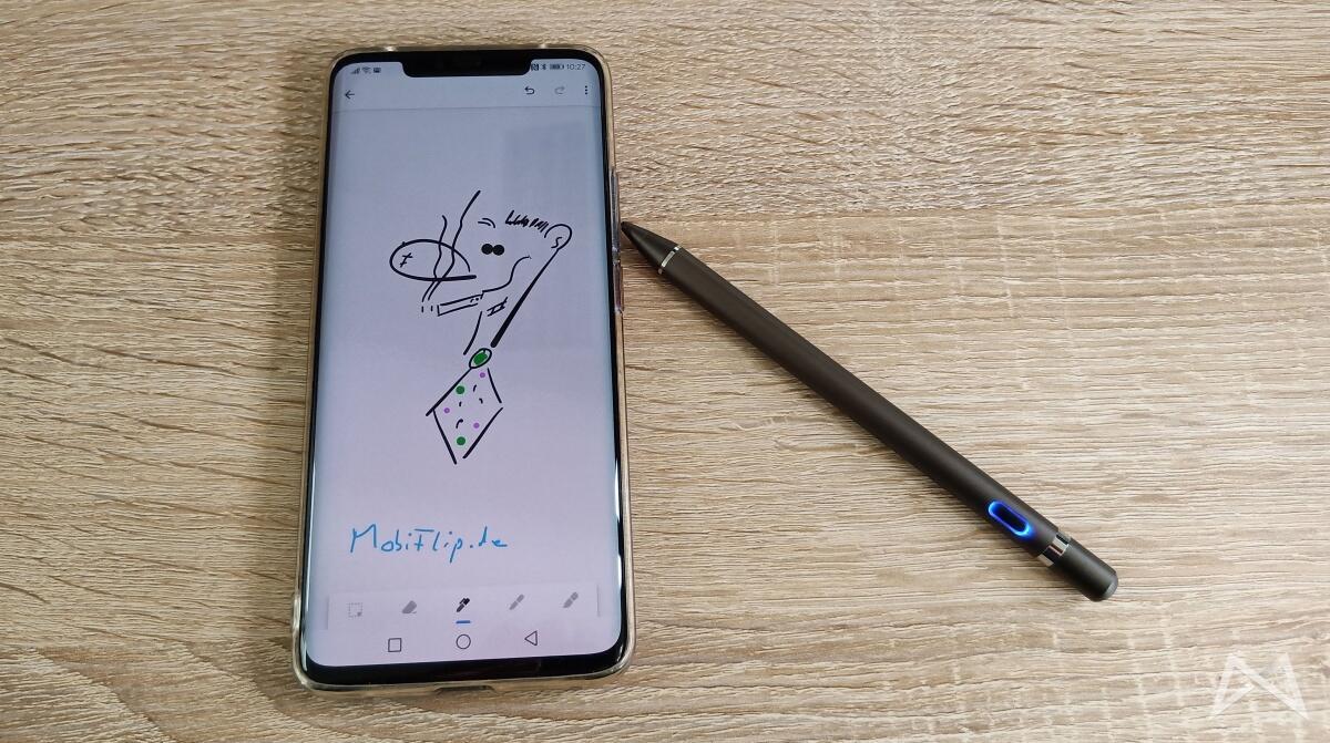 Active Stylus Pen 1.5mm Spitze Demo