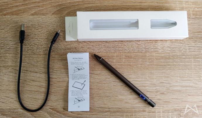 Active Stylus Pen 1.5mm Spitze Lieferumfang