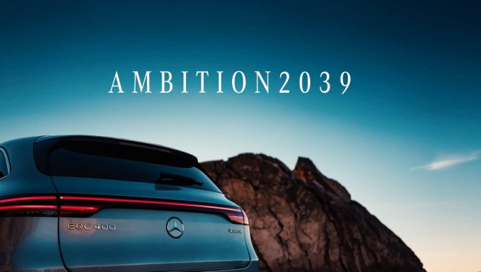 Ambition 2039 Mercedes Benz
