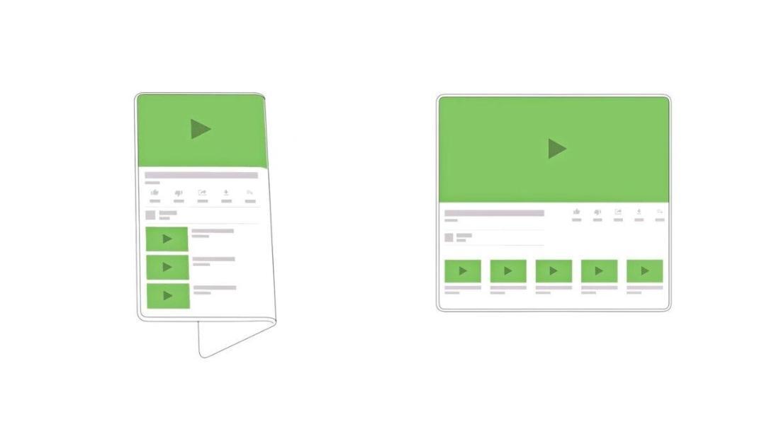 Android Q Faltbar Display