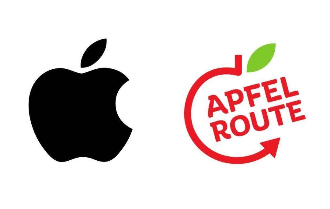 Apple Apfelroute Logo