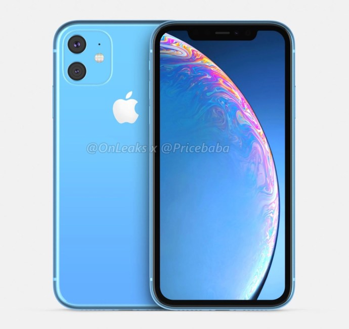 Apple Iphone Xr 2019 Leak Blau