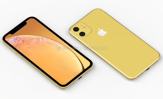 Apple Iphone Xr 2019 Leak Gelb