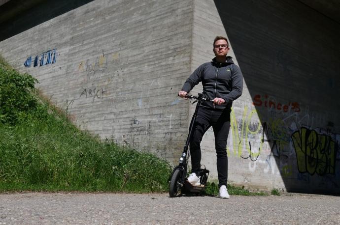 Elektro Scooter Header