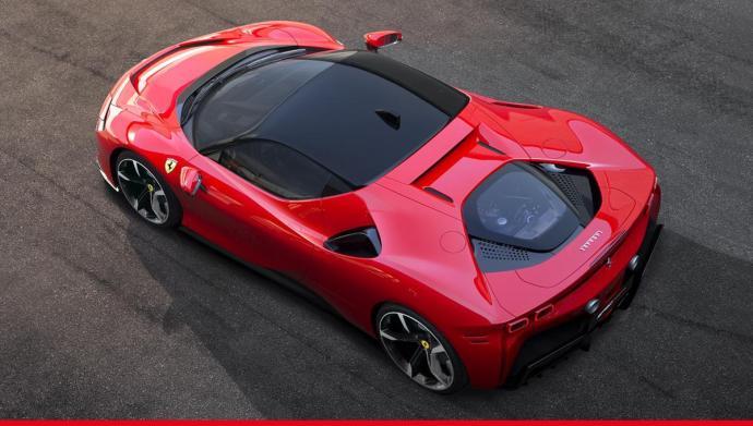 Ferrari Sf90 Stradale Oben