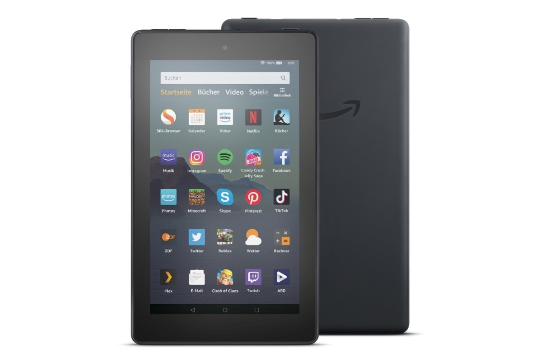 amazon stellt neues fire 7 tablet vor. Black Bedroom Furniture Sets. Home Design Ideas