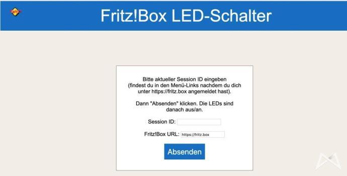 Fritz Led Umschalter Script