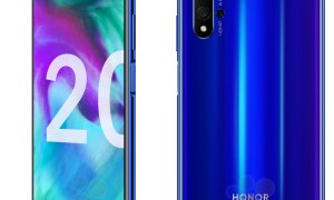 Honor 20 Blau Leak