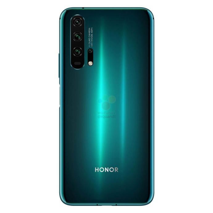 Honor 20 Pro Leak Blau