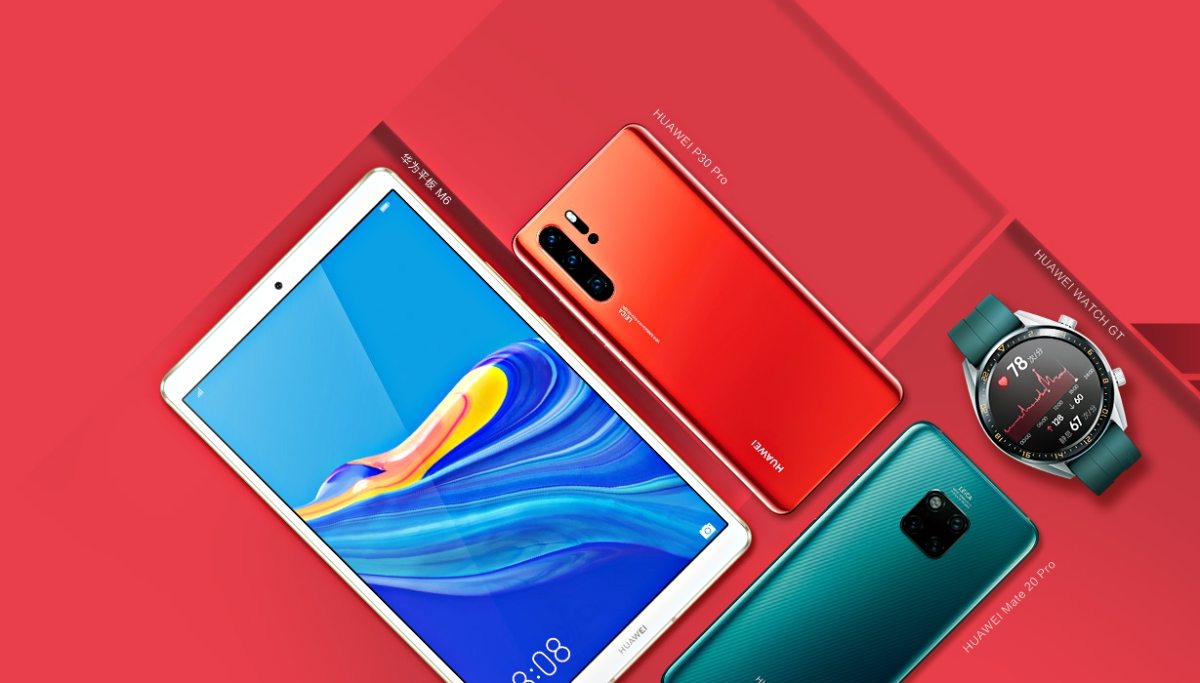 Huawei Mediapad M6 Teaser