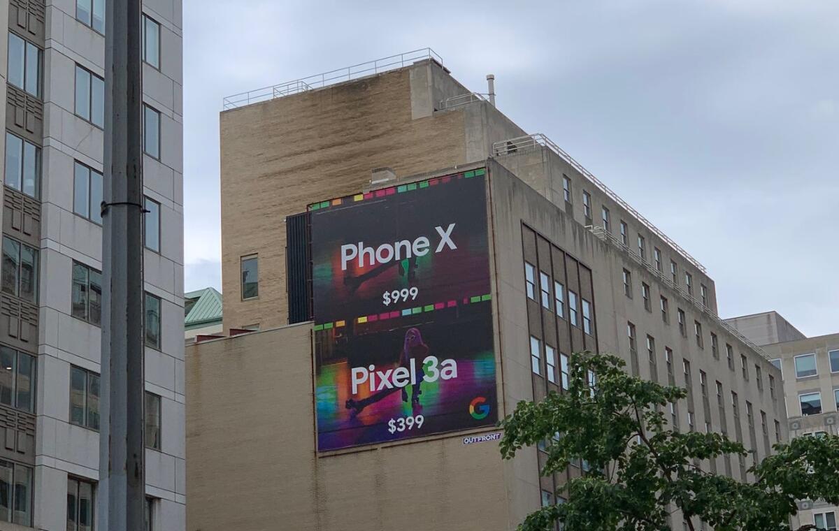 Iphone X Pixel 3a Plakat