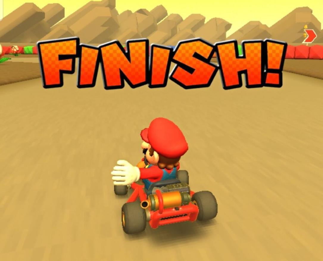 Mario Kart Tour Screen Header