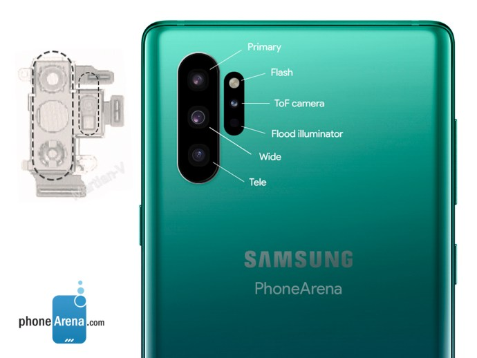 Note 10 Kamera