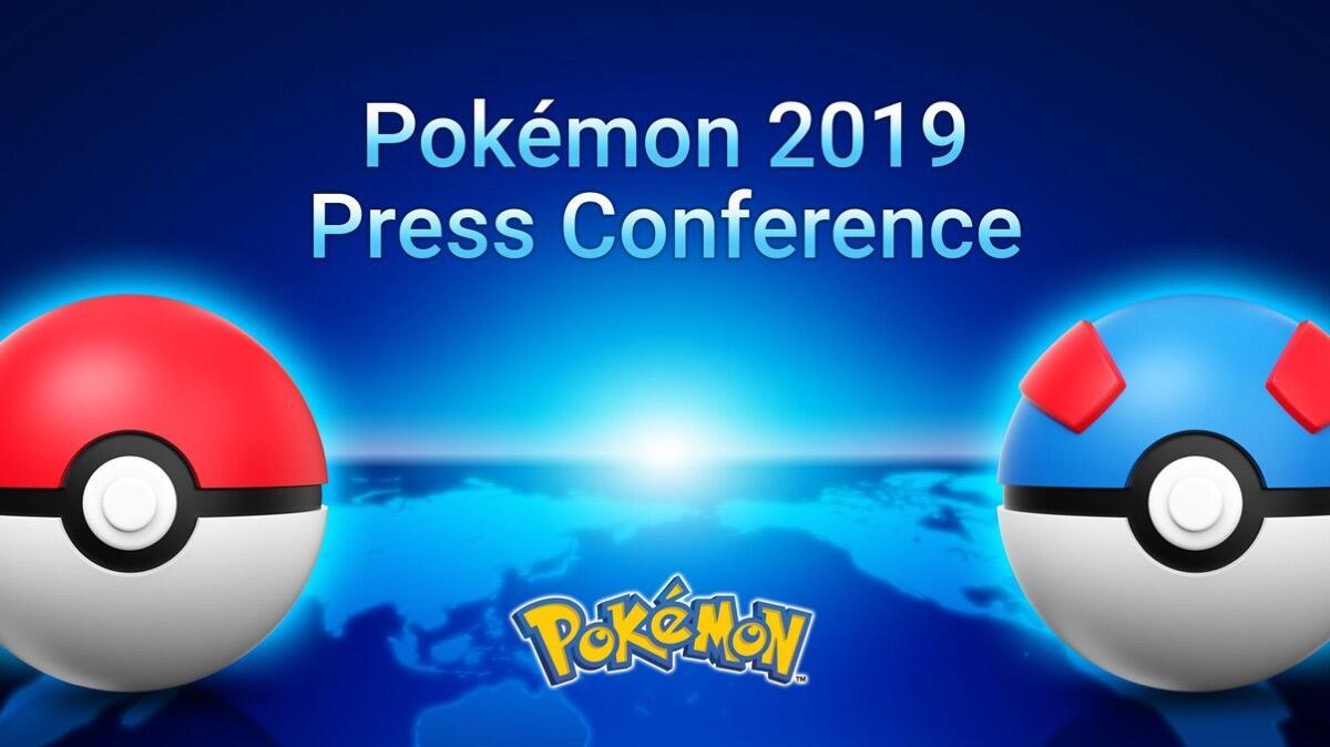 Pokemon Pressekonferenz