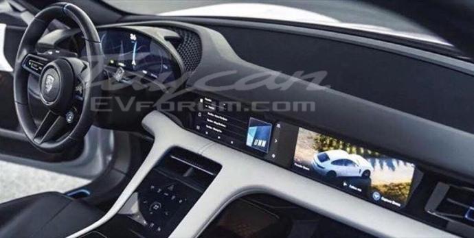 Porsche Taycan Interieur1
