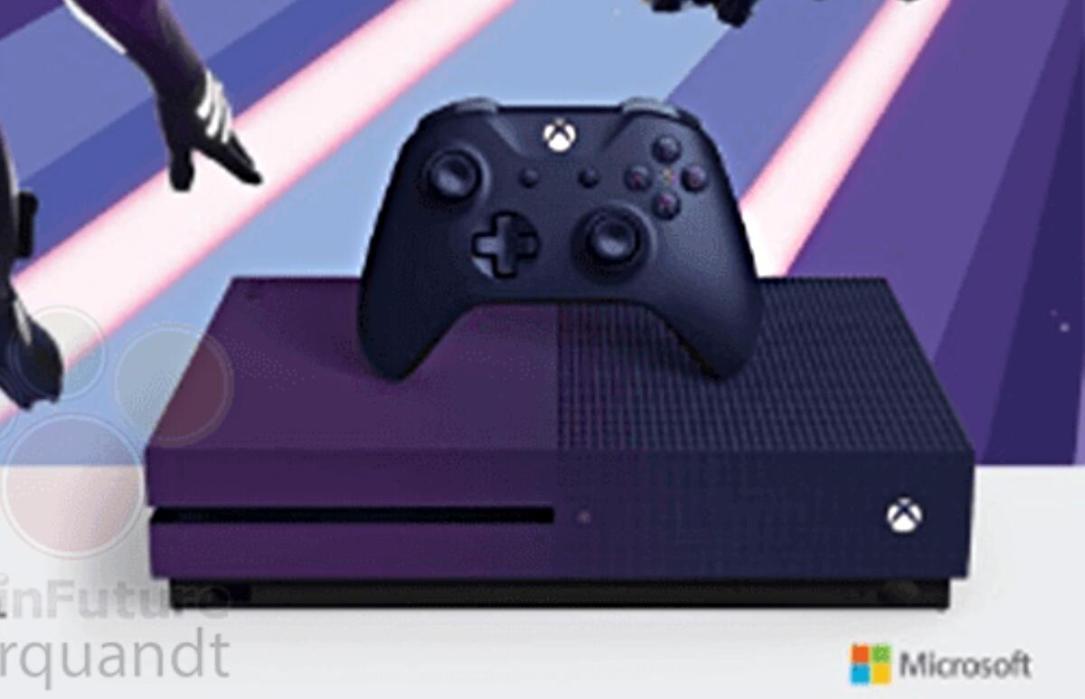 Xbox One S Fortnite Leak Detail