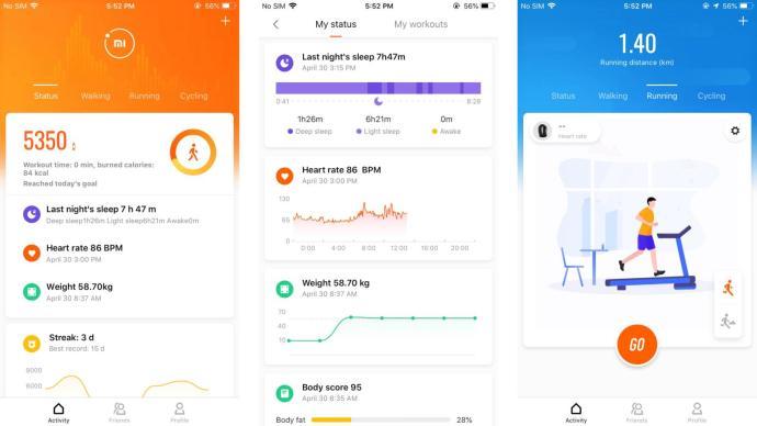 Xiaomi Mi Fit 4 Update