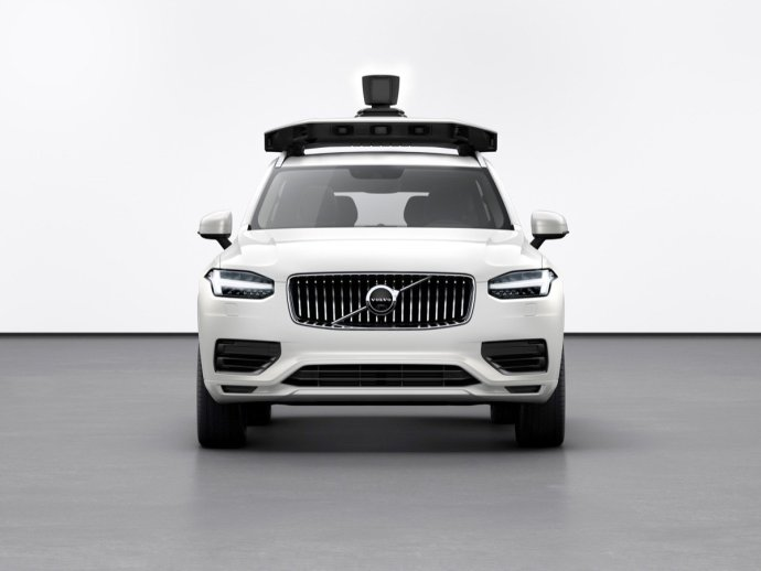 254702 Volvo Cars And Uber Present Production Vehicle Ready For Self Driving