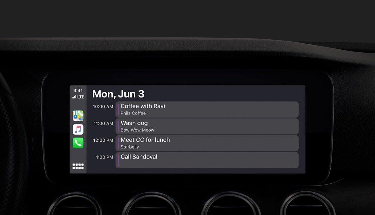 Apple Carplay Kalender