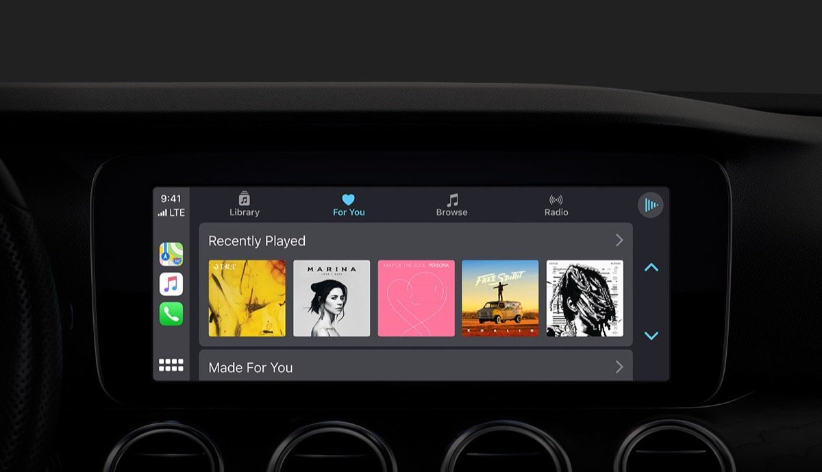 Apple Carplay Musik