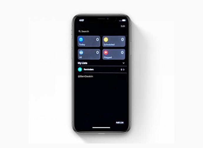 Apple Ios 13 Screen