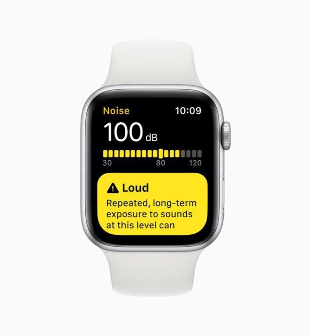 Apple Watchos6 Noise App