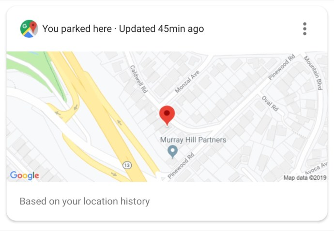 Assistant Parking Location