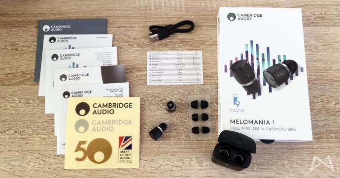 Cambridge Audio Melomania 1 Lieferumfang