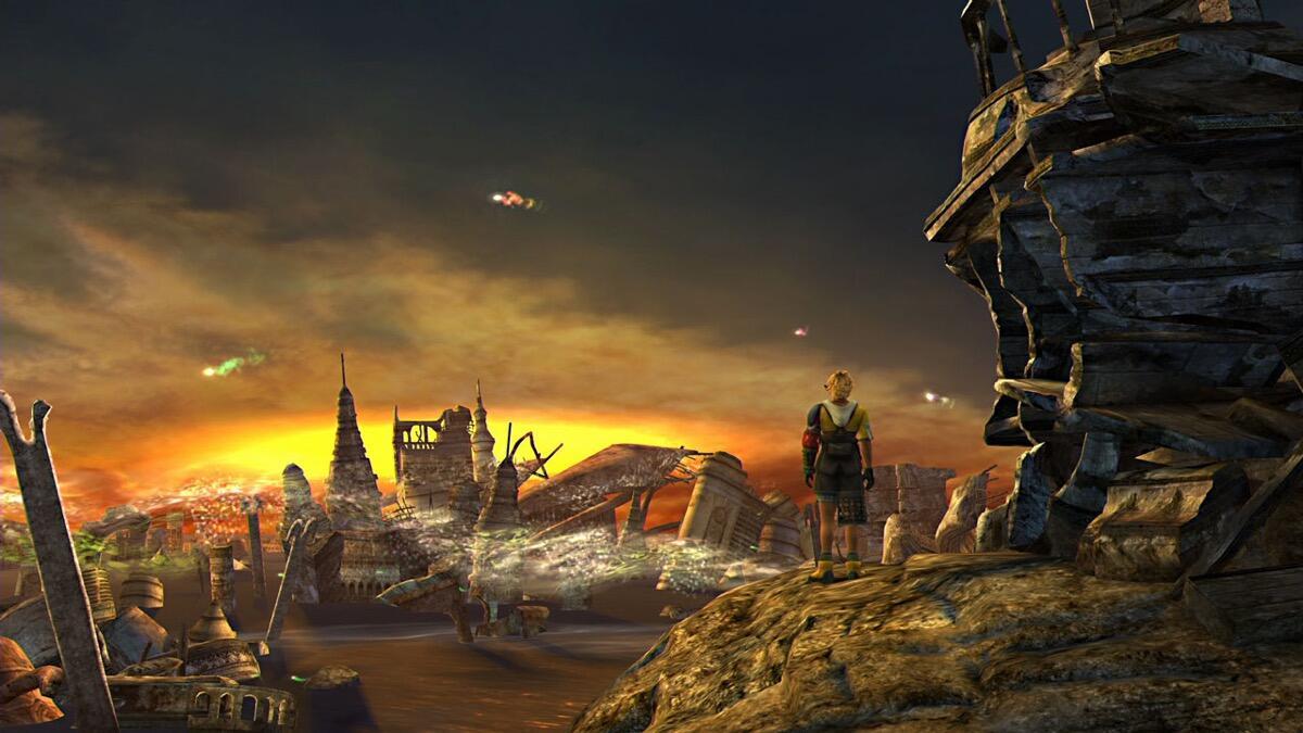 Final Fantasy 10 Switch