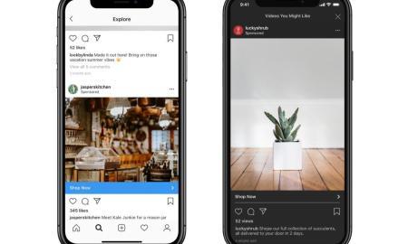 Instagram Werbung Header