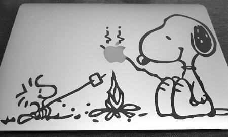 Macbook Pro Space Grey Aufkleber