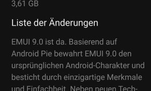 Mate 20 Lite Android 9 Pie